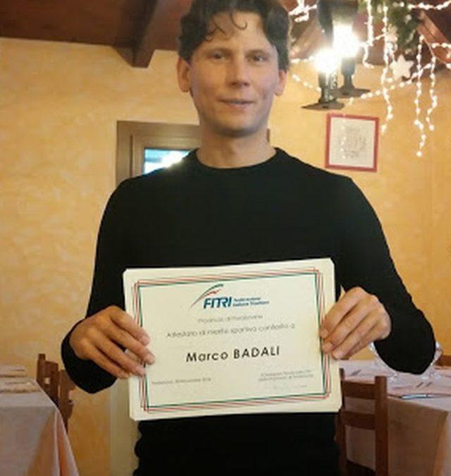 Prime gare per Marco Badali e Mauro Gava del Triathlon Team Pezzutti