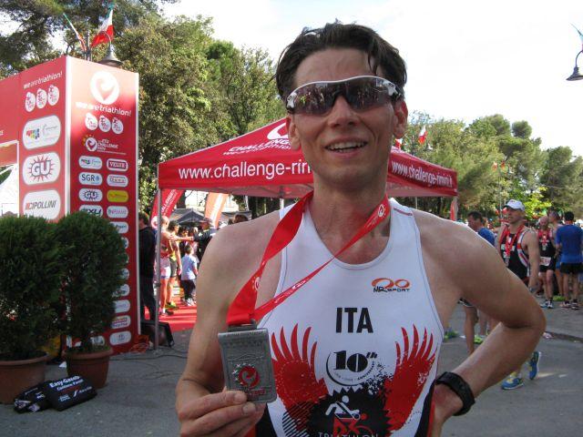 Un ottimo Badali al Rimini European Challenge Distance