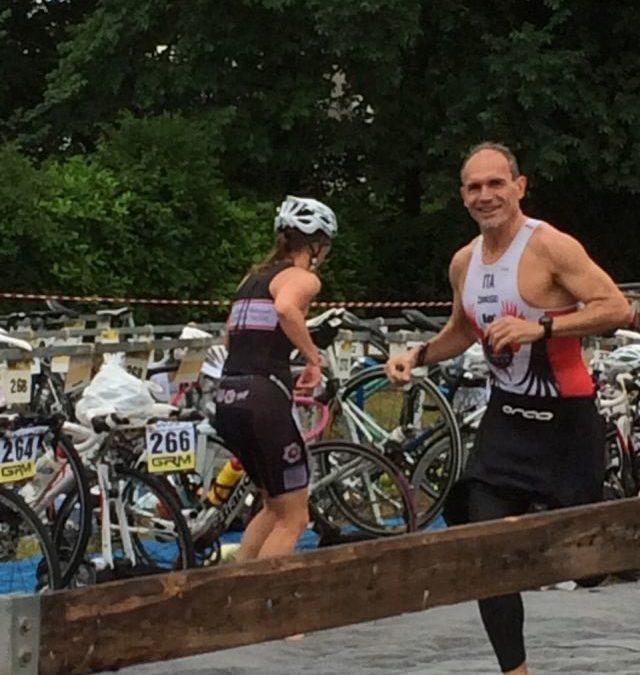 Zanusso 38^ al Triathlon Internazionale Città di Bardolino, Gava oggi all'Ironman d'Austria