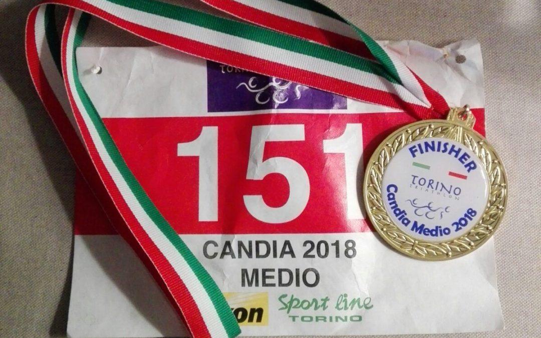 STEFANO SAMBATI NON MOLLA E PORTA A TERMINE IL MEDIO DI CANDIA (TORINO): 8° POSTO DI CATEGORIA