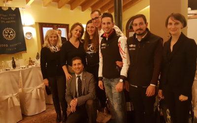TRIATHLON TEAM PEZZUTTI OSPITE DEL ROTARY CLUB DI MANIAGO-SPILIMBERGO