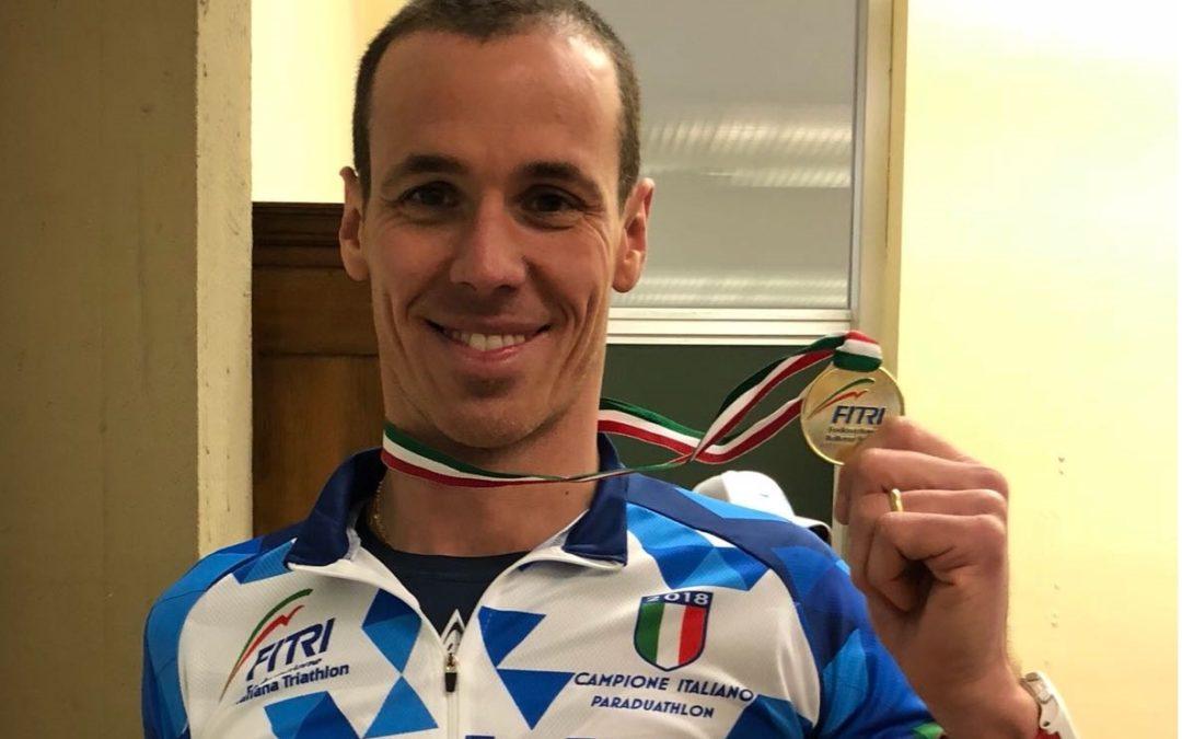 MAURO GAVA IL 31 MARZO A MONTELUPO FIORENTINO PER DIFENDERE IL TITOLO DI CAMPIONE ITALIANO DI PARADUATHLON