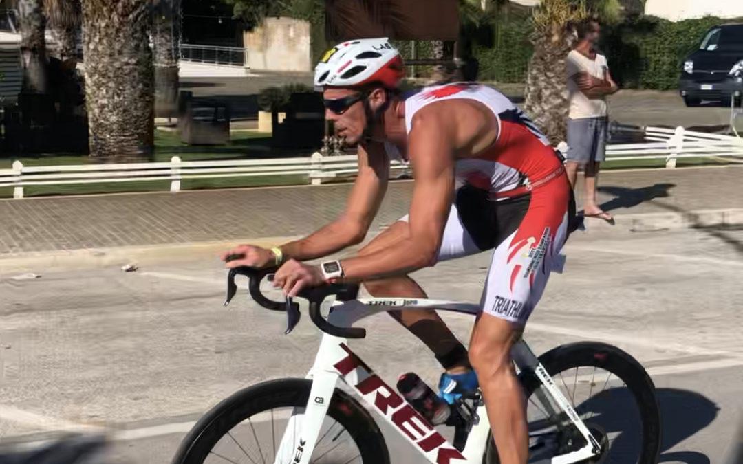 Mauro Gava ai Campionati Italiani Paratriathlon
