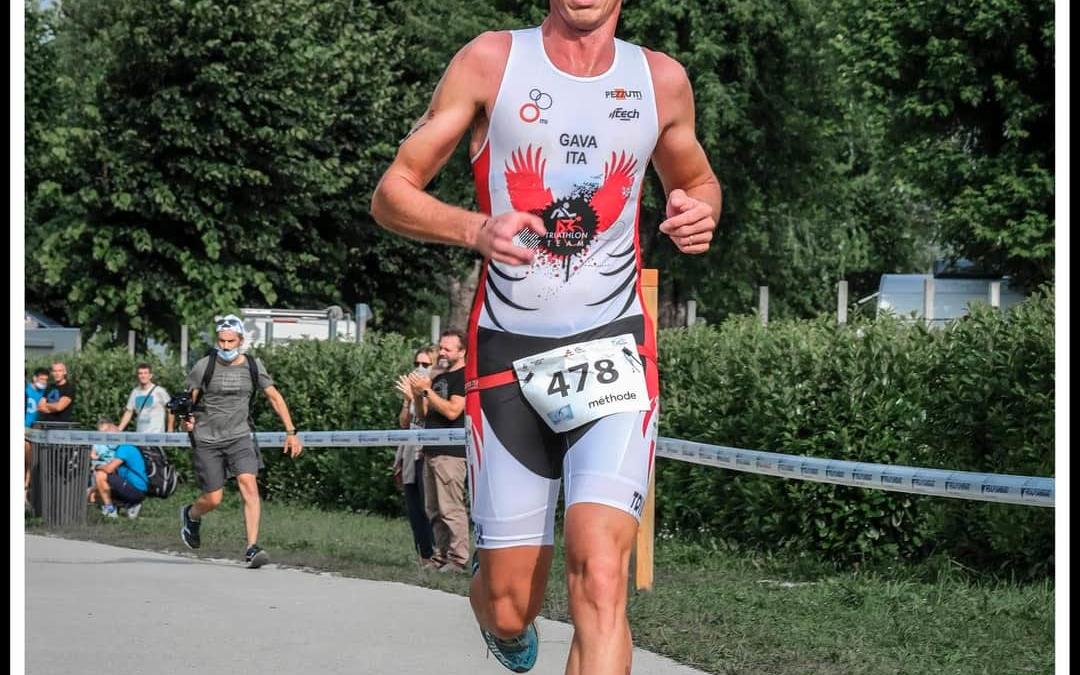 Mauro Gava al Triathlon Sprint – Paratriathlon di Civitanova Marche (MC)