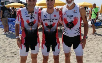 Gli atleti del Triathlon Team di nuovo in campo