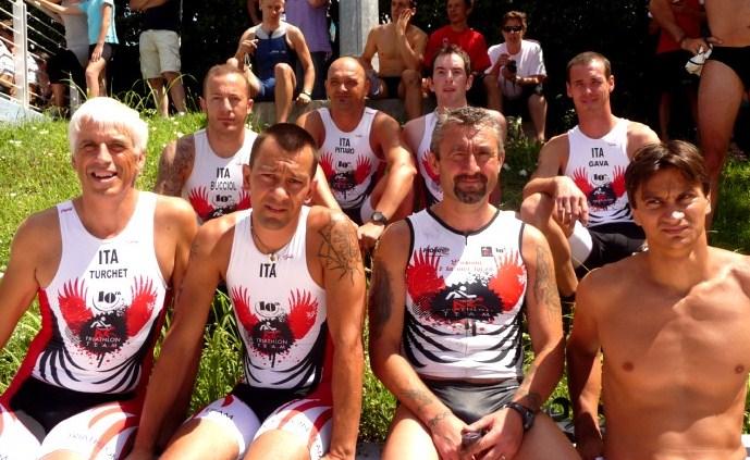 Triathlon Team sempre più in alto