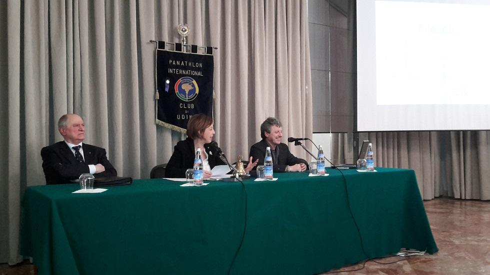 """La """"filosofia dell'allenamento"""" presentata al Panathlon Udine"""