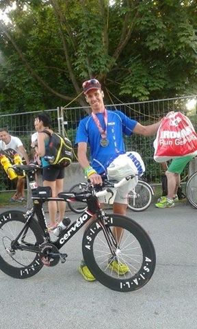 Mauro Gava ritorna a casa Ironman, domenica sarà il turno di Valenti a Francoforte