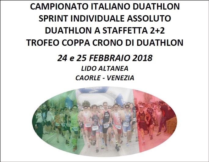Il TriTeam Pezzutti schiera 5 atleti ai Campionati Italiani di Duathlon Sprint a Caorle