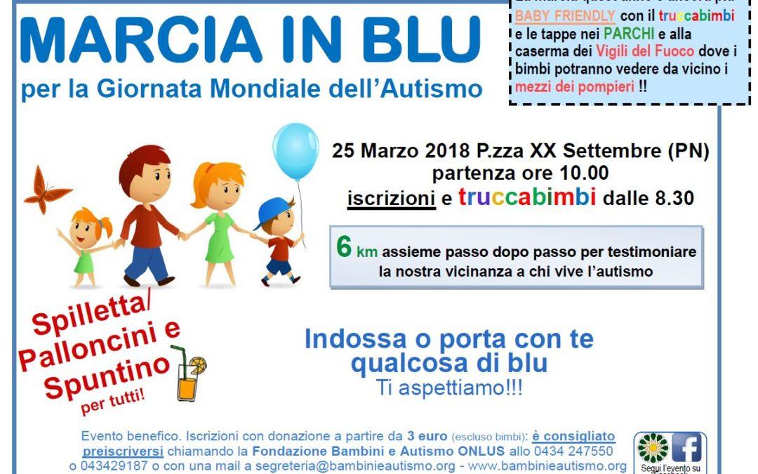 Il TriTeam Pezzutti presente alla 3^ Marcia in Blu a Pordenone