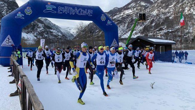 PRENDE IL VIA LA STAGIONE DELLA TRIPLICE: DENIS VALERI OTTIMO FINISHER AI CAMPIONATI ITALIANI DI WINTER TRIATHLON A CUNEO!