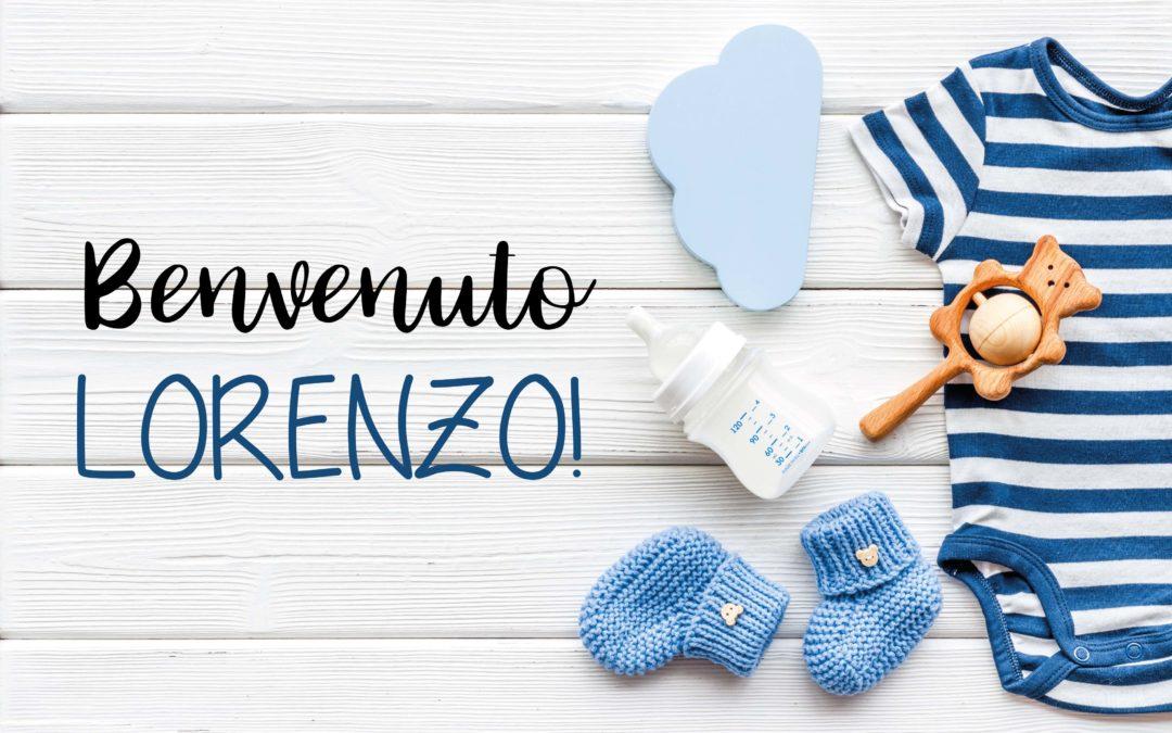 Benvenuto Lorenzo!