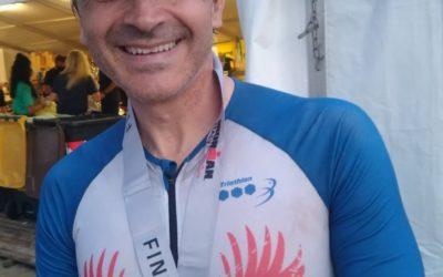 Dal Brasile all'IRONMAN di Cervia con la maglia del Triathlon Team